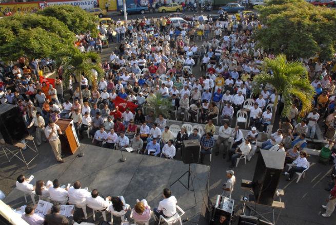 Los portovejenses se oponen al cierre del aeropuerto Reales Tamarindos