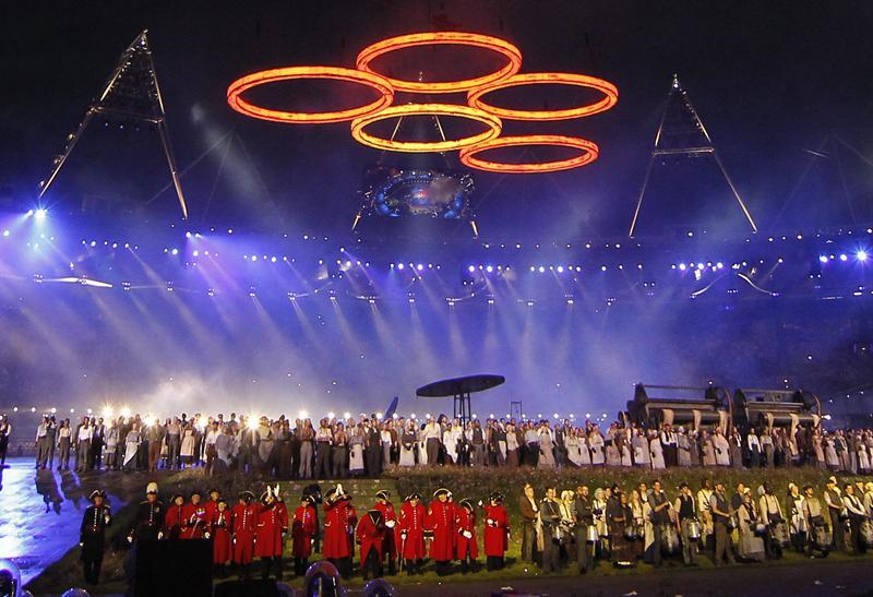 Emocionante inauguración de las Olimpiadas en Londres