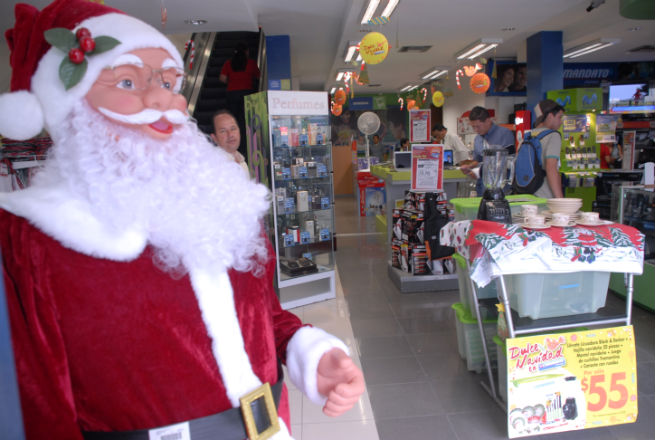 El ambiente navideño ya se vive en las calles