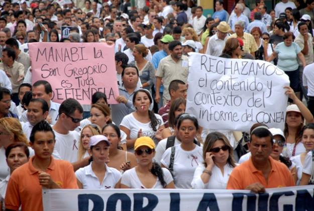 Los problemas de  Portoviejo confluyen  en asamblea popular
