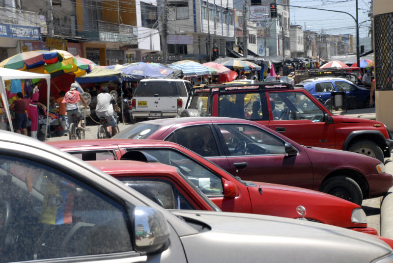 Después de Quito, Portoviejo tiene  el tránsito más caótico en Ecuador
