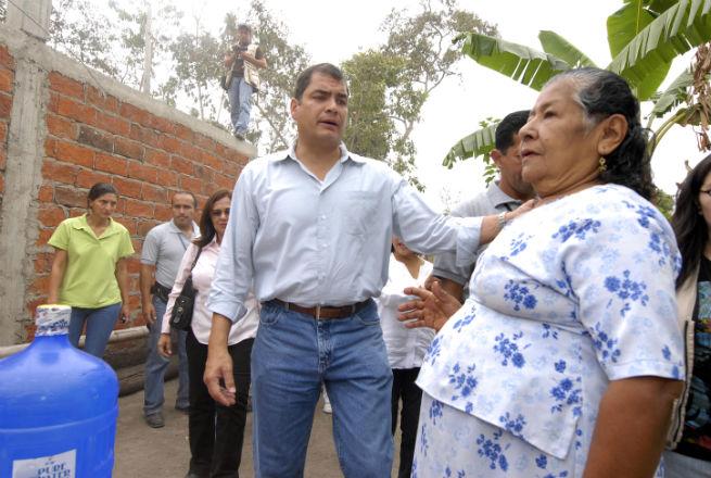 Presidente de la República visita Manabí