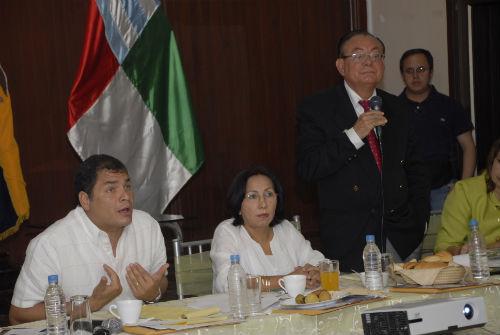 Correa niega su culpa y acusa a la partidocracia