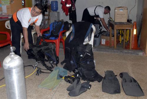 Bomberos tienen 7 buzos para rescates acuáticos