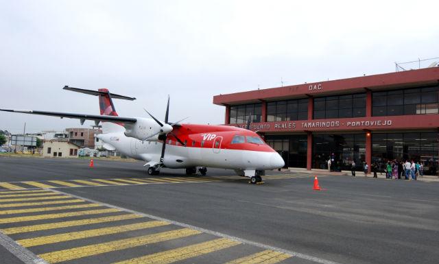 Aerogal vuela en Portoviejo
