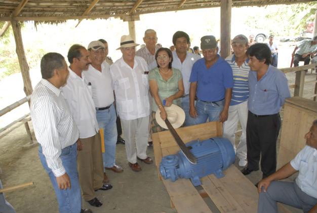 Agua de canal de riego será para 1.500 hectáreas