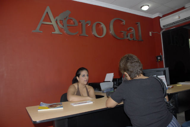Empieza la venta de pasajes en las oficinas de Aerogal