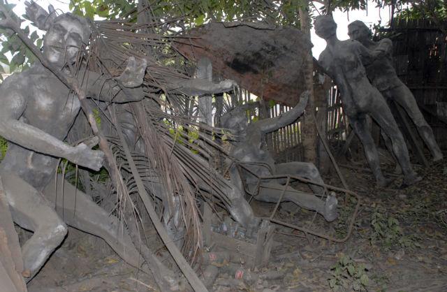 Municipio tiene varias estatuas abandonadas