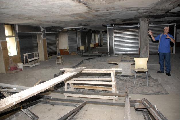 Comerciantes no dejaron iniciar la remodelación de la bahía del CCM