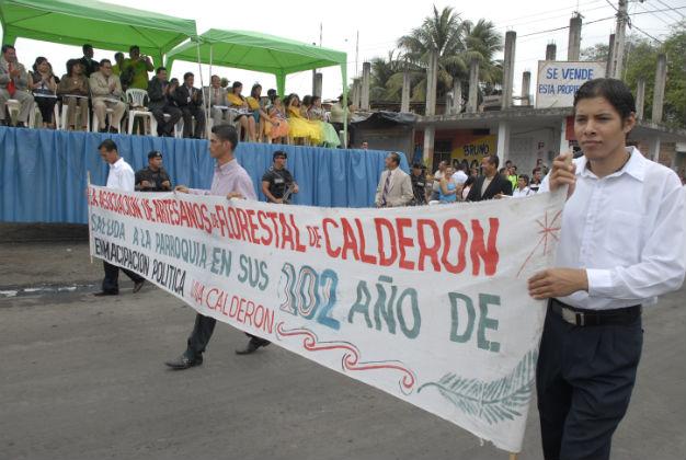 Calderón iniciará el lunes para de actividades