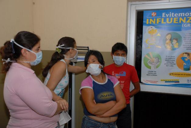 La gripe AH1N1 pudiera confundirse con el dengue