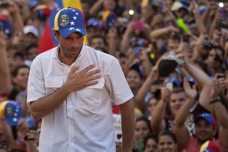 Capriles no entregará Venezuela a 'los yanquis' ni a Cuba
