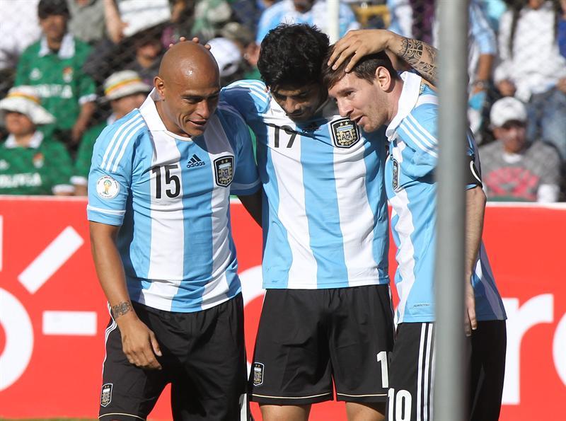 Argentina rescata un punto, tras empatar 1-1 con Bolivia