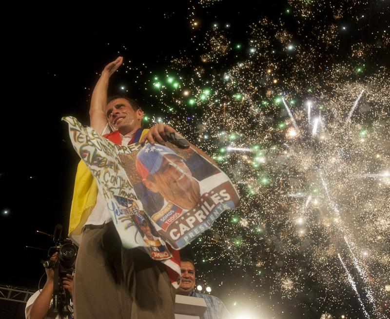 Capriles descarta abandonar su candidatura presidencial