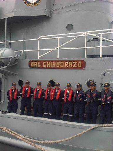 Pilotines de la Marina Mercante llegan a Manta
