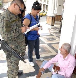 La misión Manuela Espejo, de la Vicepresidencia de la República, culmina hoy en el cantón Portoviejo.