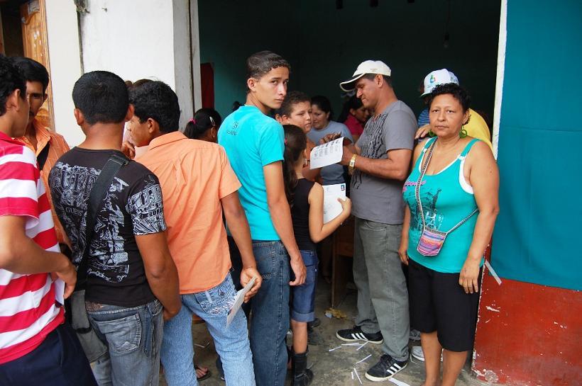 Guayas cedula en La Manga del Cura