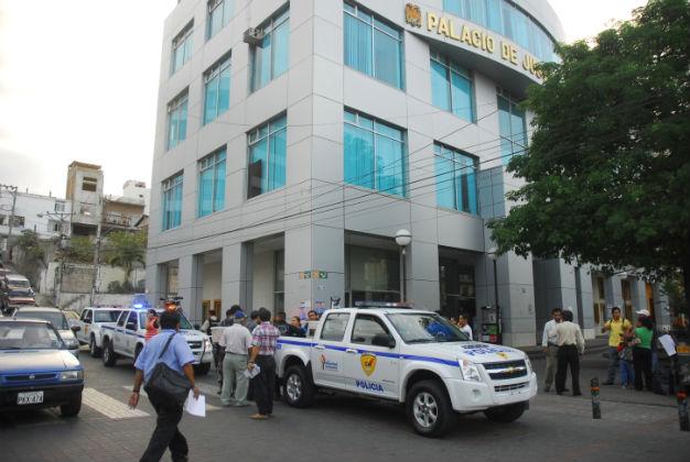Falsa alarma en Palacio de Justicia