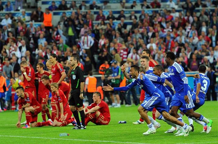 Chelsea se corona campeón de la Champions League
