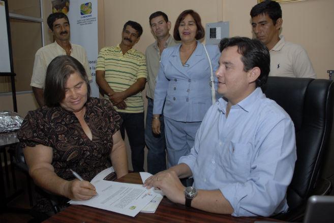 Sector productivo Recibirán 55 mil dólares del Caders para negocio