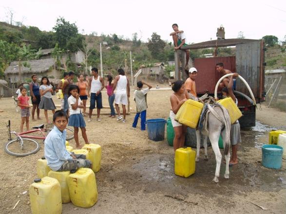 Falta de agua en Junín preocupa a  los habitantes