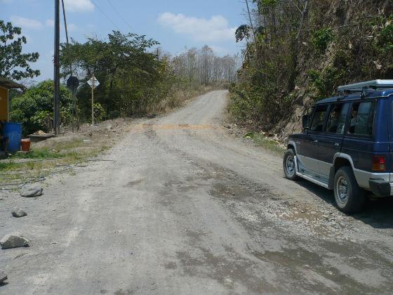 Estado de las vías en Manabí causan preocupación