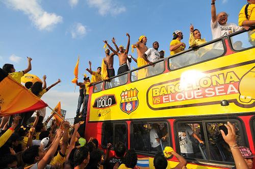 Celebran clasificación de Barcelona