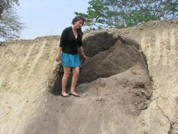 Restos encontrados en pedernales corresponde a tumba aborigen