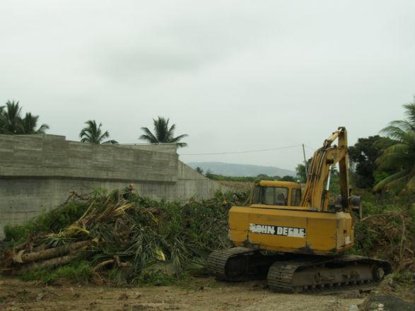 Se inició construcción de accesos a puente El Ceibal