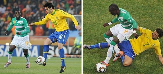 (3-1)Brasil venció a Costa de Marfil y lo deja al borde de la eliminación