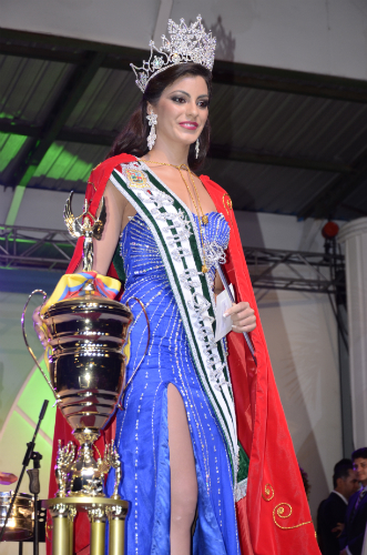Virginia Limongi, electa Reina de Manabí