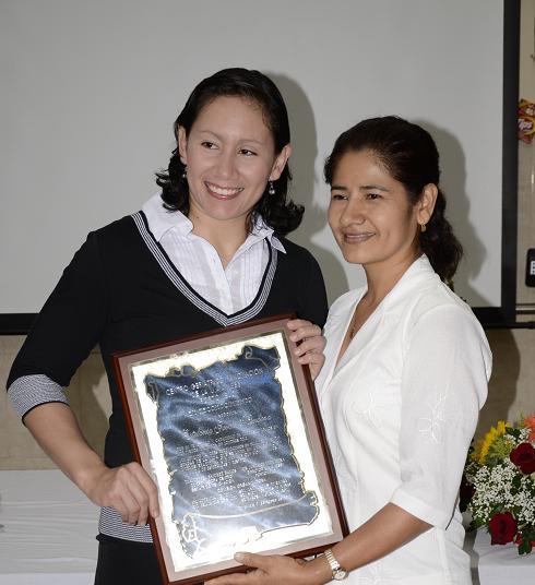 Judoca manabita recibe homenaje