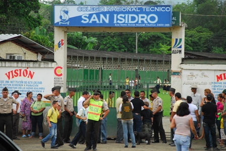 Expectativa en San Isidro por visita de Correa