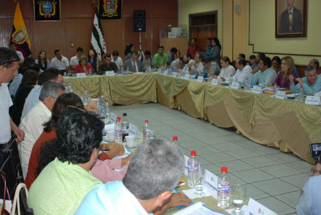CPM respalda a Charapotó para que  ascienda a cantón