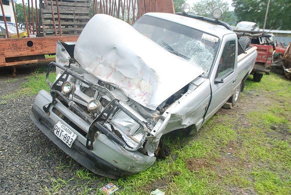 3 accidentes de tránsito en las primeras horas del 2011