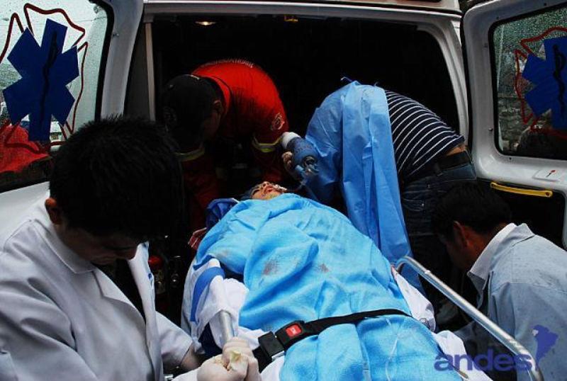 Tres periodistas mueren cuando cubrían visita de Correa