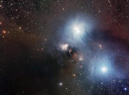 Observatorio en Chile difunde una acuarela cósmica de la estrella Australis