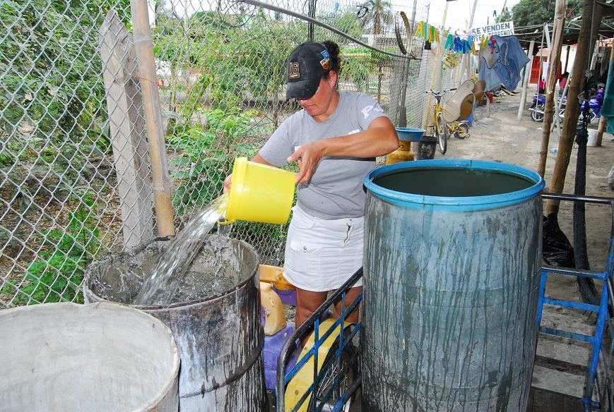 Mañana se normaliza la distribución de agua