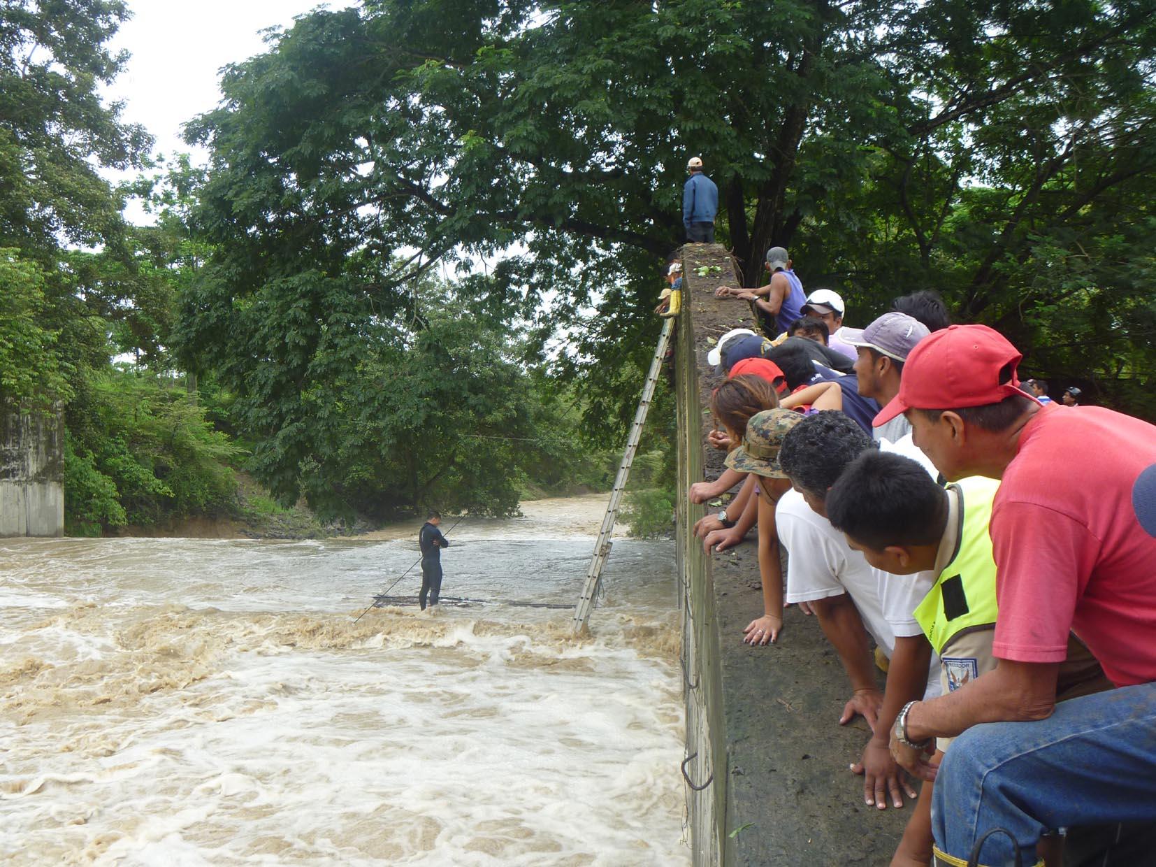 Joven se ahogó en el vertedor de la ex presa Paján