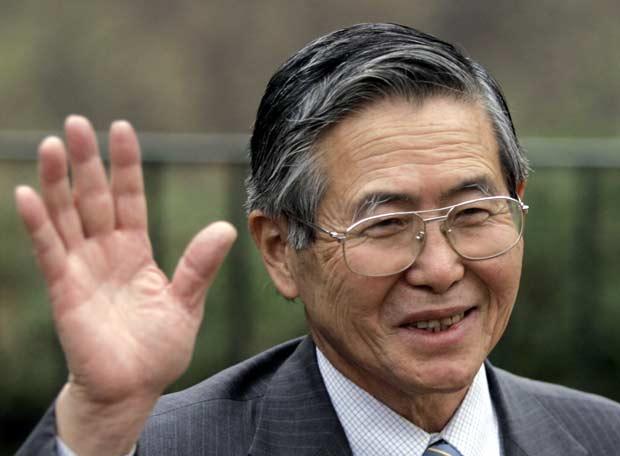 Alberto Fujimori, ex presidente peruano, está libre de cáncer