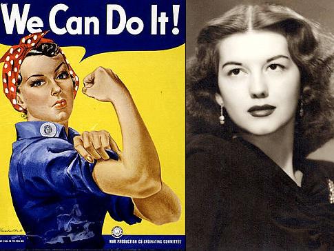 Fallece la mujer que dio rostro a la II Guerra Mundial