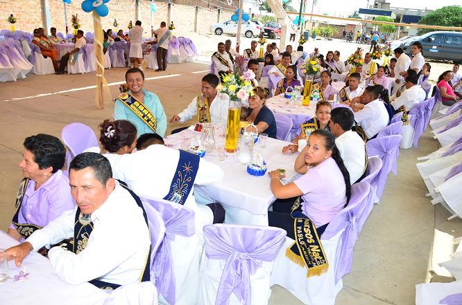 Gobierno de San Pablo brindó banquete