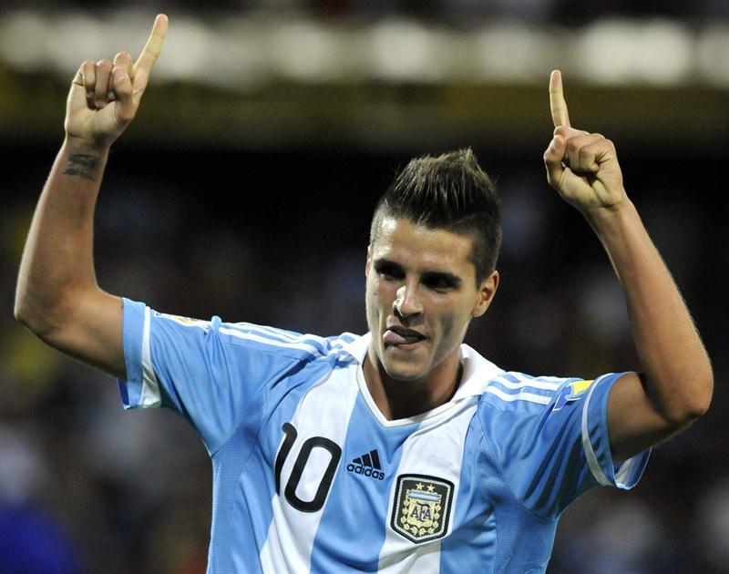 Lamela le dio el primer triunfo a Argentina frente a México