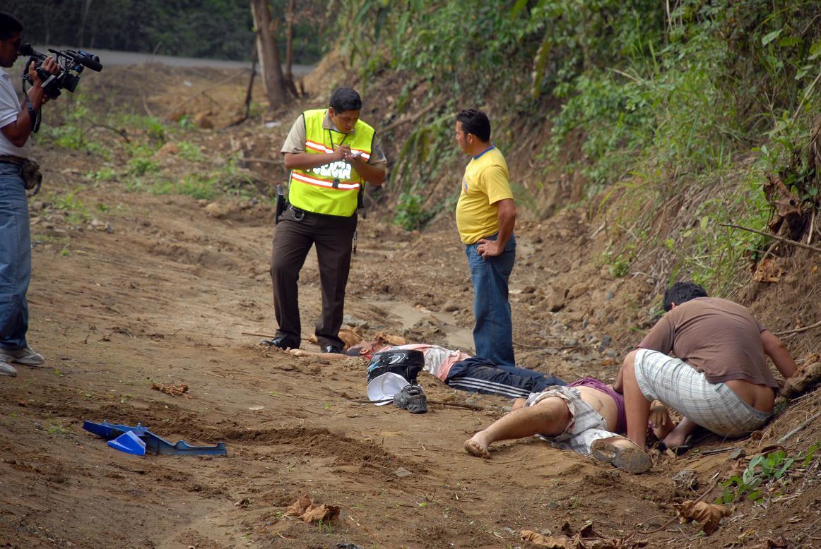 Dos hombres son acribillados en el sitio Bonce