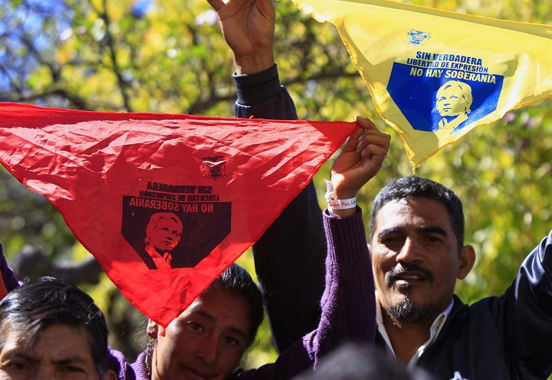 Ecuador y Reino Unido dispuestos a dialogar