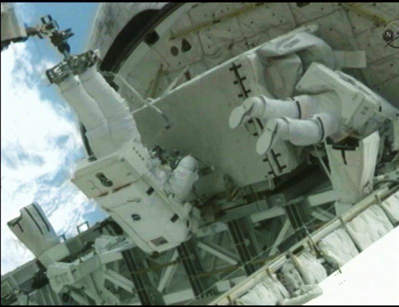 Transbordador Atlantis se despide de la Estación Espacial para siempre