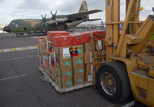 Ecuador posee otras 68 toneladas de ayuda humanitaria