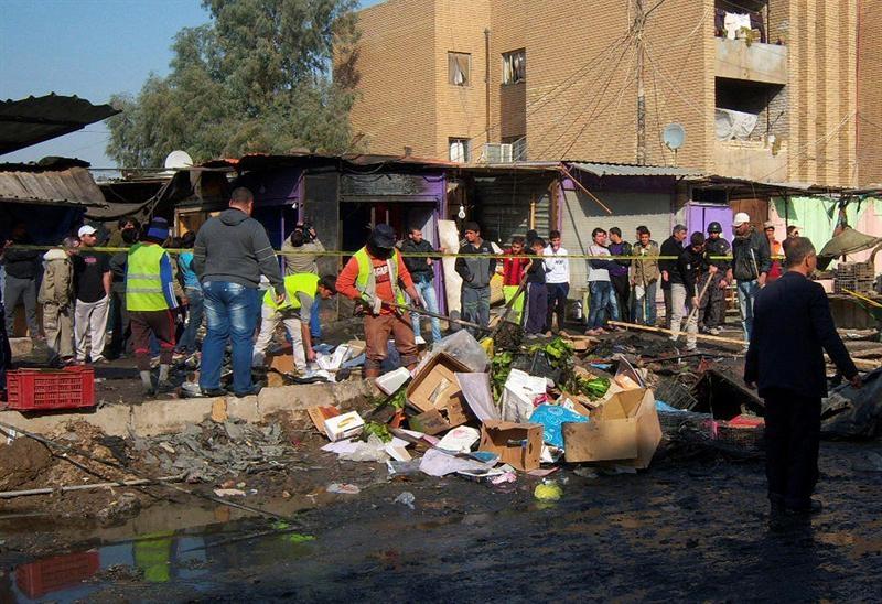31 muertos al explotar un coche bomba en un funeral chií