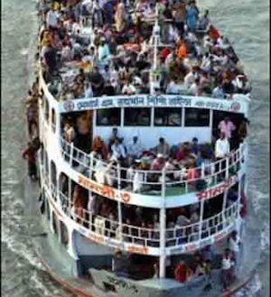 Tragedia en Bangladesh: 46 personas perdieron la vida