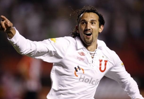Hernán Barcos anuncia su vinculación al Palmeiras